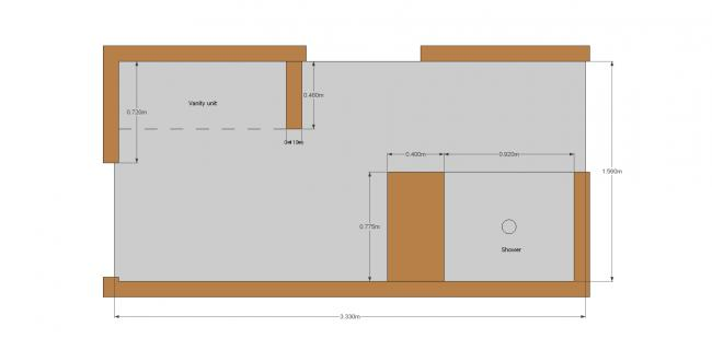 Ensuite Floor Plan