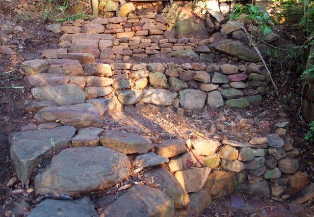 Nov - Garden steps